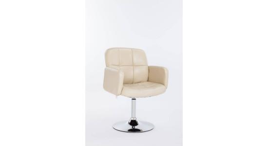 Кресло барное поворотное BCR-302 (бежевое)
