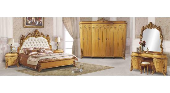 Мебель для спальни в классическом стиле Клеопатра 3901D