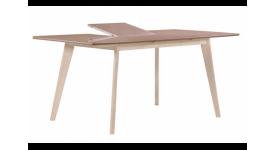 Стол обеденный скандинавский (трансформер) LARGO (таупе)