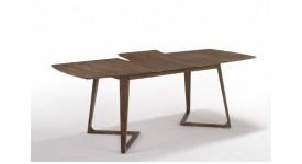 Стол обеденный скандинавский (трансформер) ALISSA (160-210) (орех)