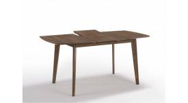 Стол обеденный скандинавский (трансформер) MOROCCO (1200-1600x800x750) (орех)