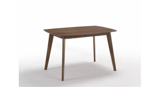 Стол обеденный скандинавский MOROCCO (1200x800x750) (орех)