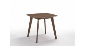 Стол обеденный скандинавский MOROCCO (800x800x750) (орех)