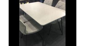 Стол обеденный (трансформер) TERRA (серый)
