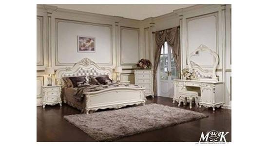Спальня Глория (молочный с золотом)