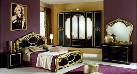 Мебель для спальни Ольга (Золото)