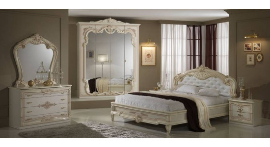 Бежевая спальня Диана