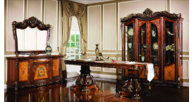 Мягкая мебель для гостиной с корпусом из массива