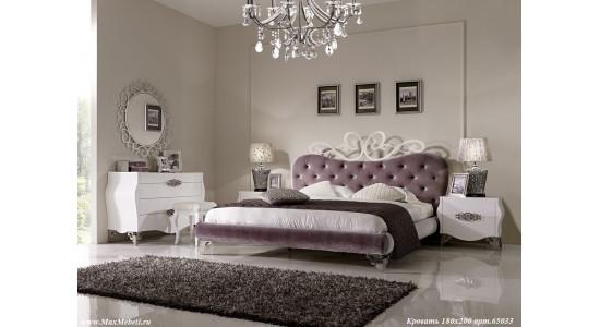 Спальня 65033 (белый лак)