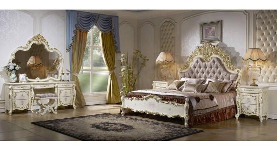 Спальня София (слоновая кость + золото)