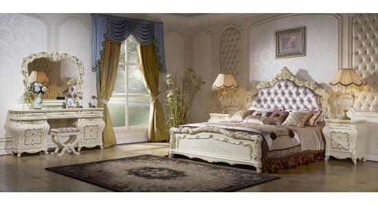 Спальня Венеция (слоновая кость + золото)
