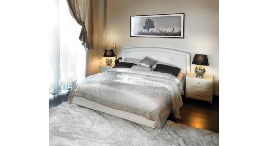 Кровать Грэйс Экотекс (Белая)