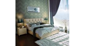 Кровать Марлена Экотекс 109 Аскона (беж.)