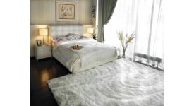 Кровать с ящиком для белья Амелия (Белая): 200x140, 200x160, 200x180