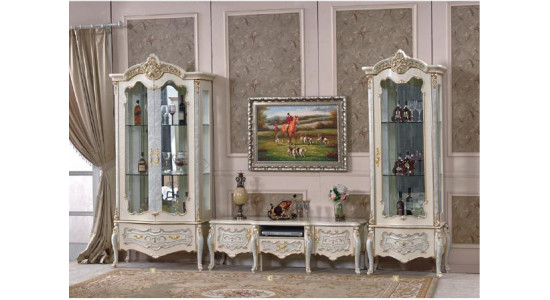 Колонки и подставка ТВ Королева 3876