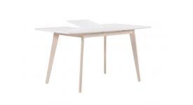 Стол обеденный (трансформер) LARGO (беленый бук)