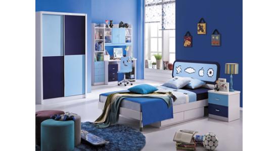 Детская спальня Бамбино (сине-белый)