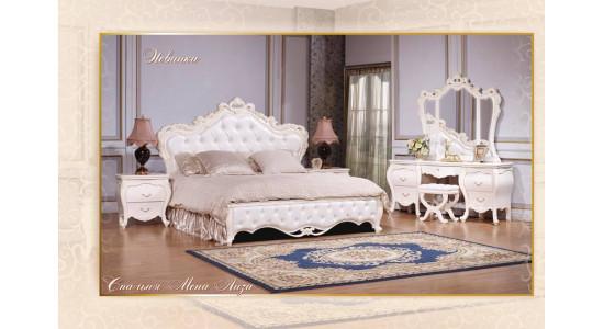 Спальня Мона Лиза (цвет: белый+золото)