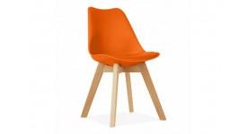 Стул дизайнерский FIRST (оранжевый)