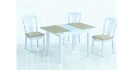 Столы и стулья с цветом столешницы венге