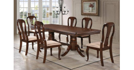 Большие столы с цветом столешницы темный орех