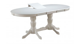 Стол обеденный (трансформер) ANJELICA (белый)