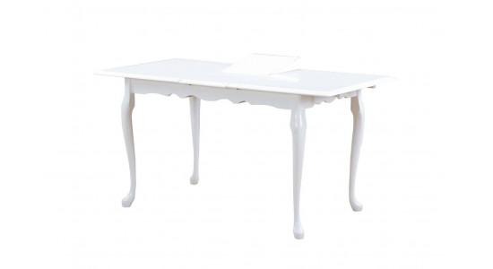 Стол обеденный (трансформер) VALENCIA (белый)