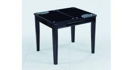 Квадратные столы с цветом дерева ванильный, мокко