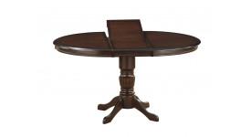 Раскладной стол в гостиную из массива IREN (венге)