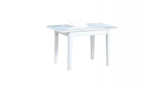 Стол обеденный (трансформер) LOTUS (белый)