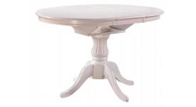 Круглый стол-трансформер CAPRI (белый)