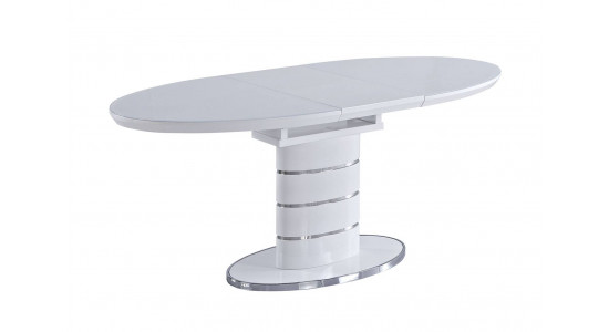 Стол обеденный (трансформер) Luna (белый)