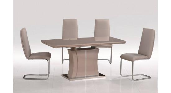 Обеденный стол-трансформер RAINBOW (кофейный)