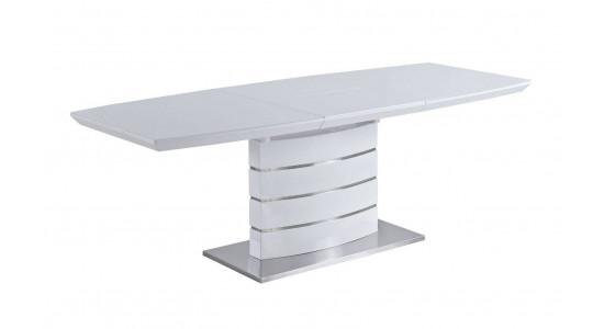 Стол обеденный (трансформер) GALAXY (белый)