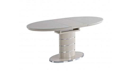 Кухонный стол-трансформер Luna (ваниль) 1,2 - 1,6 м.