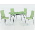 Стол обеденный (трансформер) В179 - 49 (салатовый)