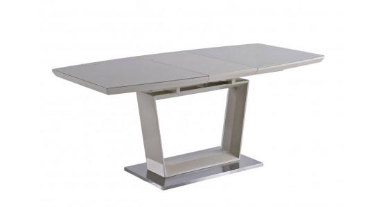 Раскладной стол AURORA (со стеклянной столешницей)