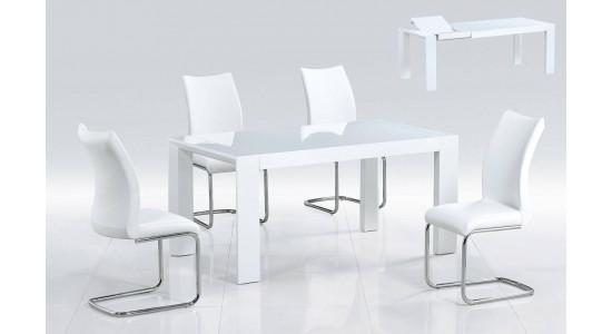 Стол-трансформер ATOLL (белый)