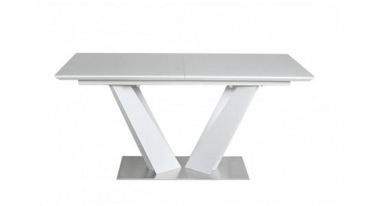 Стол обеденный (трансформер) ATLANT (140-180) (серый лак)