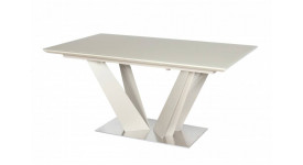 Стол обеденный (трансформер) ATLANT (140-180) (лак ваниль)