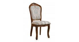 Элитные стулья с корпусом из массива гевеи, с цветом дерева миланский орех