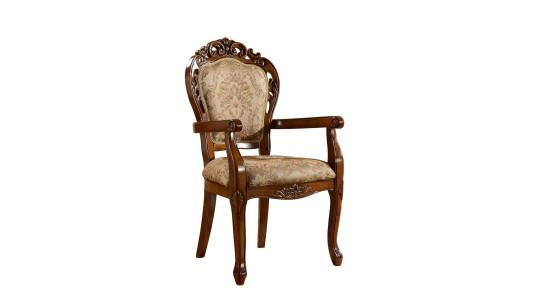 Стул с резной спинкой и мягким сиденьем 3251 АС