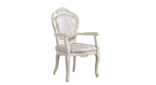 Стул с мягким сиденьем и спинкой 325 AC (бело-молочный)