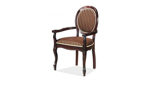 Стул с мягким сиденьем и спинкой FIONA (венге)