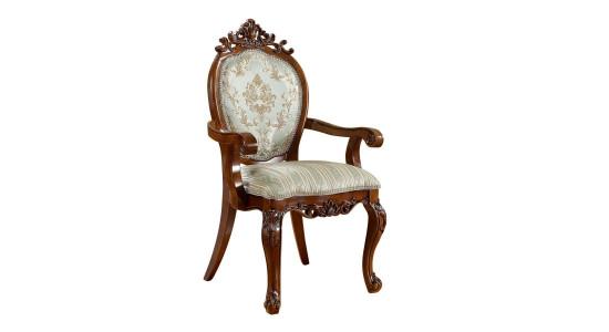 Стул-кресло с мягким сиденьем 8069 AC (миланский орех)