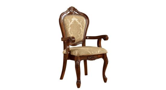 Классический стул со спинкой и подлокотниками 619 АС
