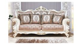 Мягкая мебель Империал (крем/вальтек золото) (Арида Мебель)