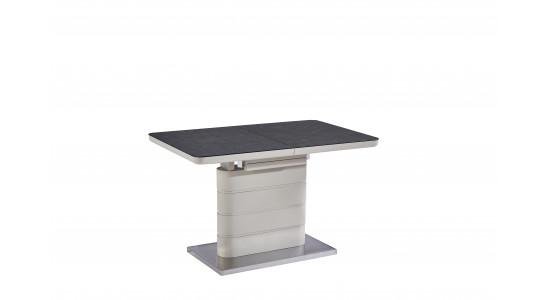 Стол модерн обеденный (трансформер) Mago Matt Latte (120-160)