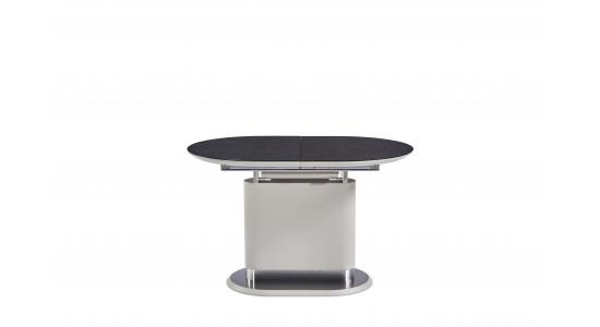 Стол модерн обеденный (трансформер) Omega Matt Latte (120-160)