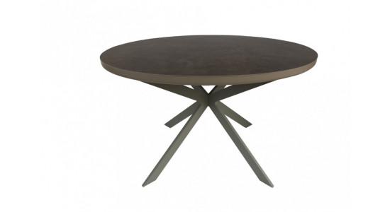 Стол обеденный (трансформер) ASTRA (сатин мокко/латте)